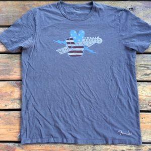 Lucky Brand Fender Peace T-Shirt, Size XL
